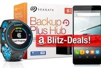Blitzangebote:<b> 6 TB Hub-Festplatte, GPS-Uhr, THL T9 Smartphone, Schnellladegerät zum besten Preis</b></b>