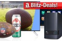 Blitzangebote und Prime Deals: Football-Angebote, NAS mit 16 TB, Android Car-System günstiger