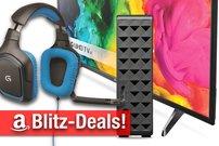 Blitzangebote: Logitech Gaming-Zubehör, LG 4K TV mit HDR, Seagate 4 TB Festplatte günstiger