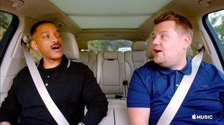 """Apple Music ohne Party: Start von """"Carpool Karaoke"""" verzögert sich"""