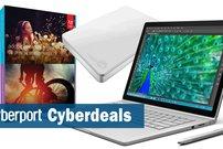 Cyberdeals: Surface Book Bundle, Photoshop Elements 15, Seagate Slim externe Festplatte u.v.m. stark reduziert