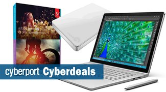 Cyberdeals: Surface Book Bundle, Photoshop Elements 15, Seagate Slim externe Festplatte u.v.m. stark reduziert