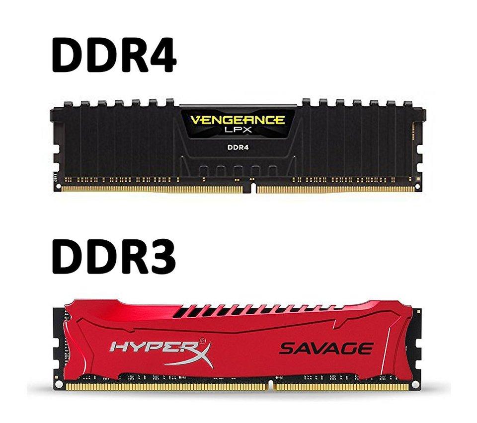 Ddr3 Ddr4 Unterschied
