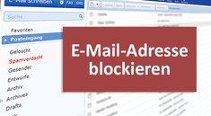 E-Mail-Adresse blockieren (Spam) – so geht's