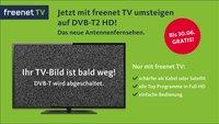 DVB-T2 HD-Fernsehen von freenet TV noch bis 30. Juni kostenlos