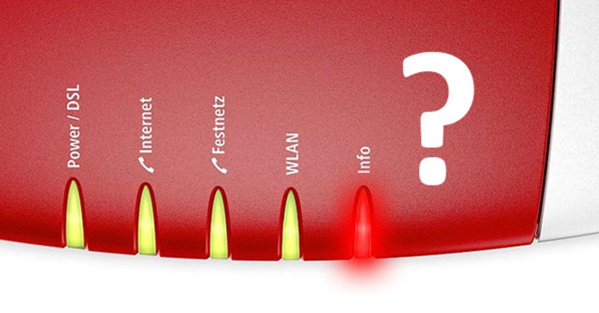 fritzbox info led leuchtet rot was bedeutet das giga. Black Bedroom Furniture Sets. Home Design Ideas