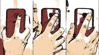 Ausprobiert: Wie bequem ist der Fingerabdruckscanner im Galaxy S8?