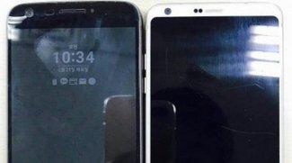 Größenvergleich mit dem Vorgänger: Das LG G6 ist ein echtes Raumwunder