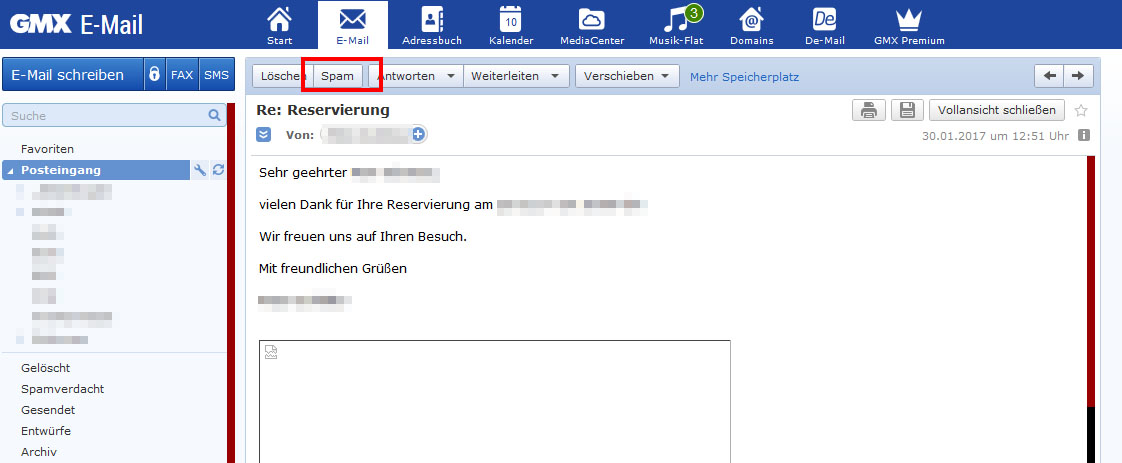 Online-Dating-E-Mail-Antwort