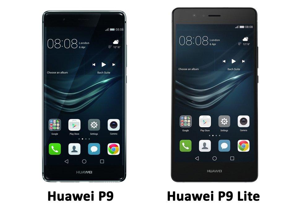Das Huawei P9 Lite ist nur leicht größer von den Maßen her. Bildquelle: Huawei