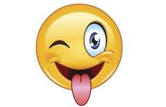 Smiley Zunge raus für...