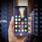 iPhone 8 als iPhone X: AR-Konzept mit Siri-Integration und Edge-to-Edge-Display
