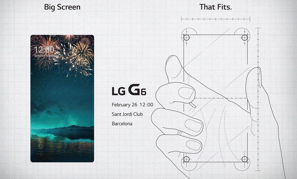 LG redet Klartext: Deswegen hat das LG G6 ein Display im 18:9-Format