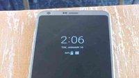 LG G6 mit Always-On-Display, abgerundeten Displayecken und mehr abgelichtet