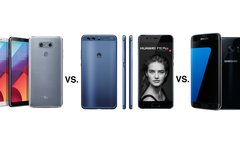 LG G6 vs. Huawei P10 Plus vs....