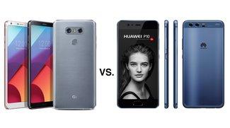 LG G6 vs. Huawei P10: Die Smartphone-Größen des MWC 2017 im Vergleich