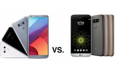 LG G6 vs. G5: Keine Chance...