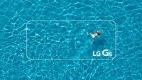 LG G6 ist wasserdicht und mit Metallgehäuse ausgestattet