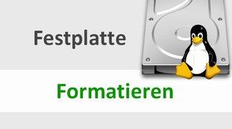 Linux: Festplatte formatieren – so geht's