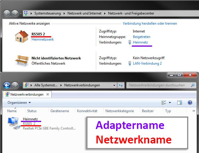 Windows 10 Netzwerkname ändern