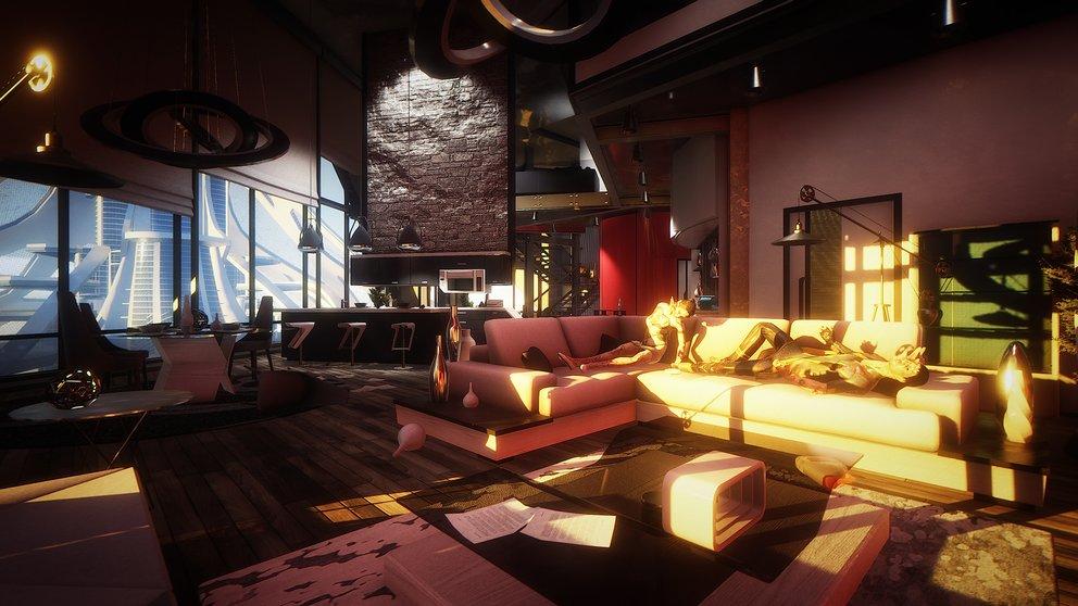 Eden sieht so schön aus - wenn da nicht die Leichen auf der Couch wären.