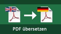 PDF übersetzen – so geht's