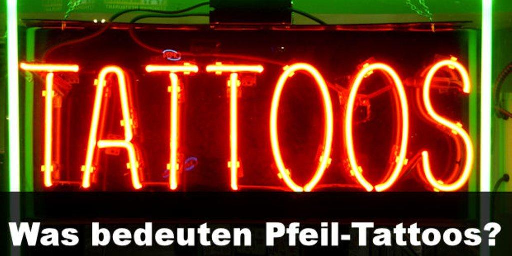 Tattoo Bedeutung Pfeile Symbol Giga