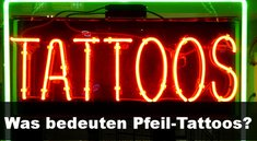 Tattoo-Bedeutung: Pfeile-Symbol