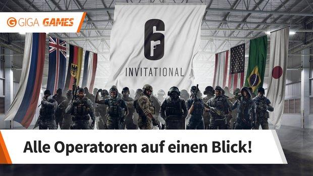 Rainbow Six - Siege: Alle Operator und die besten Angreifer und Verteidiger