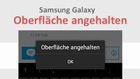 Lösung: Samsung Galaxy – Oberfläche angehalten (S3, S2, Tab3 etc.)