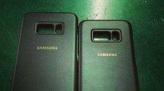 Galaxy S8: Samsung-Hüllen bestätigen rückseitigen Fingerabdruckscanner und mehr