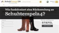Schuhtempel24-Rücksendung: Regeln und Adressen