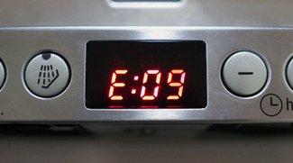 Lösung: Siemens Geschirrspüler-Fehler E09