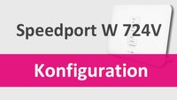 Speedport W724V konfigurieren & einrichten – so geht's