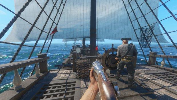 Blackwake: Arbeite mit Deiner Crew zusammen und steure ein Schlachtschiff