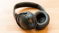 Bose QuietComfort 35 (II): Noise-Cancelling anpassen und ausschalten – So geht's