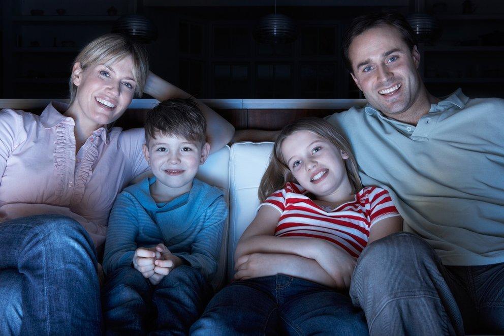 Eltern mit Kinder TV