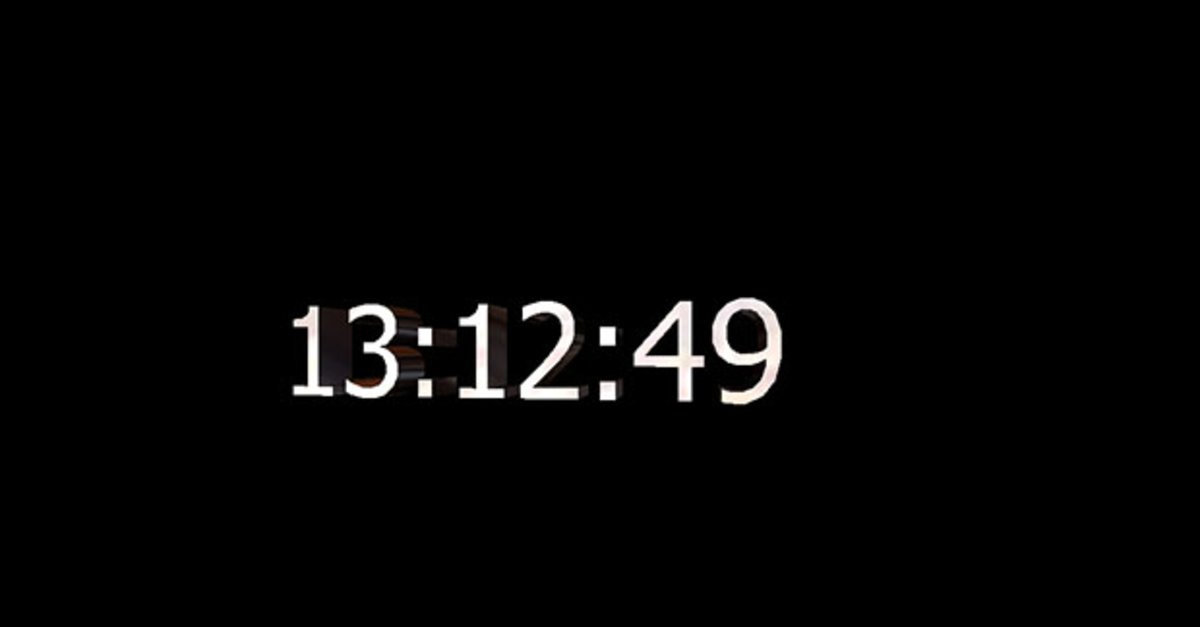 Uhr als Bildschirmschoner einrichten – in Windows 10, 7, 8 (ohne ...