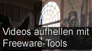 Ein Video aufhellen mit Freeware