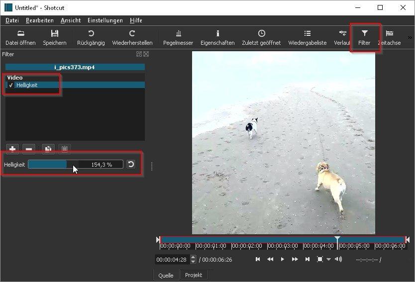 video-aufhellen-shotcut-freeware