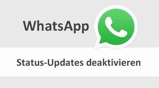 WhatsApp: Status-Update-Meldungen deaktivieren