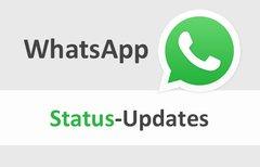 WhatsApp: Status verschicken &...