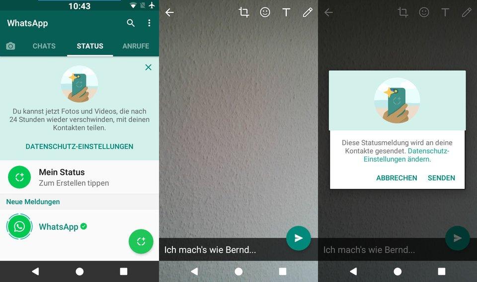 Whatsapp Kontakte Weg Das Kann Man Tun