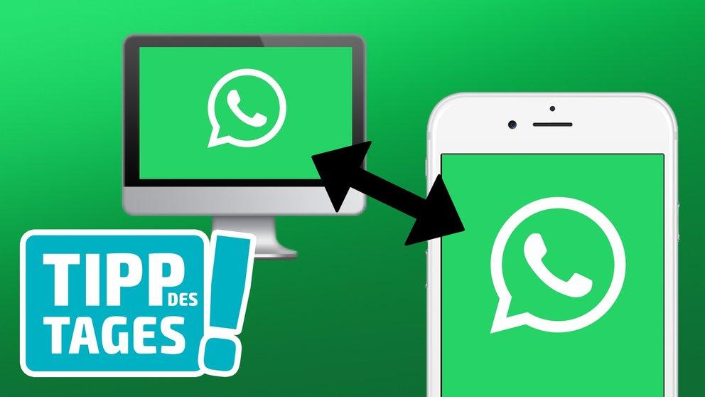 Lifehack: Mit WhatsApp Fotos und Daten vom Smartphone auf Mac & PC übertragen (und umgekehrt)