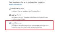 Windows 10: Entwicklermodus – Was ist das? Wie aktivieren & deaktivieren?