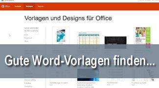 Word-Vorlagen für jeden Zweck finden und direkt nutzen