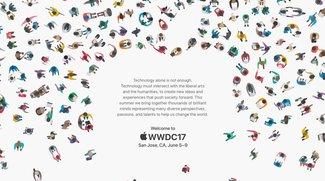 WWDC 2017: Apple lädt zum Event, um die Welt zu verändern