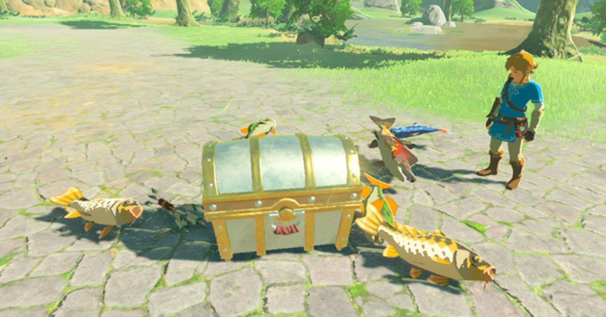 Zelda Wind Waker Karte.Zelda Breath Of The Wild Amiibo Funktionen Und Alle Boni Im überblick