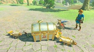 Zelda - Breath of the Wild: Amiibo-Funktionen und alle Boni im Überblick