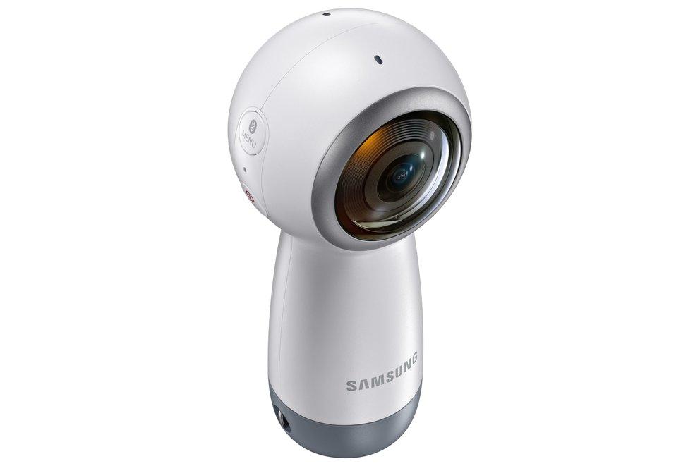 Samsung Gear 360 (2017): Neues Design und 4K-Aufnahmen (Quelle: Samsung)